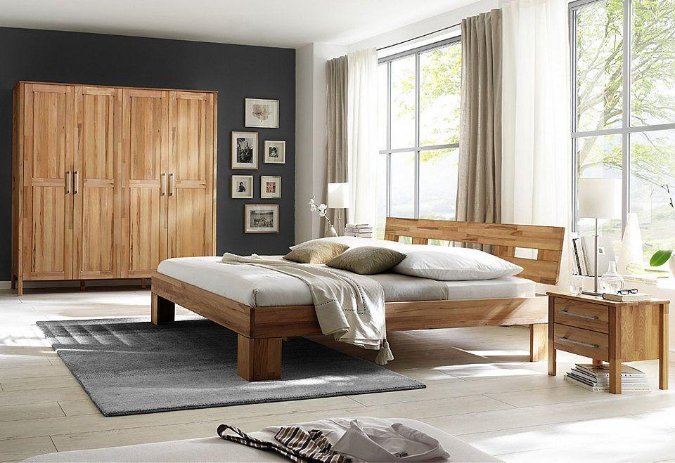 Home affaire, Schlafzimmer-Set (4-tlg), »Modesty I« mit 4-türigem - komplett schlafzimmer günstig