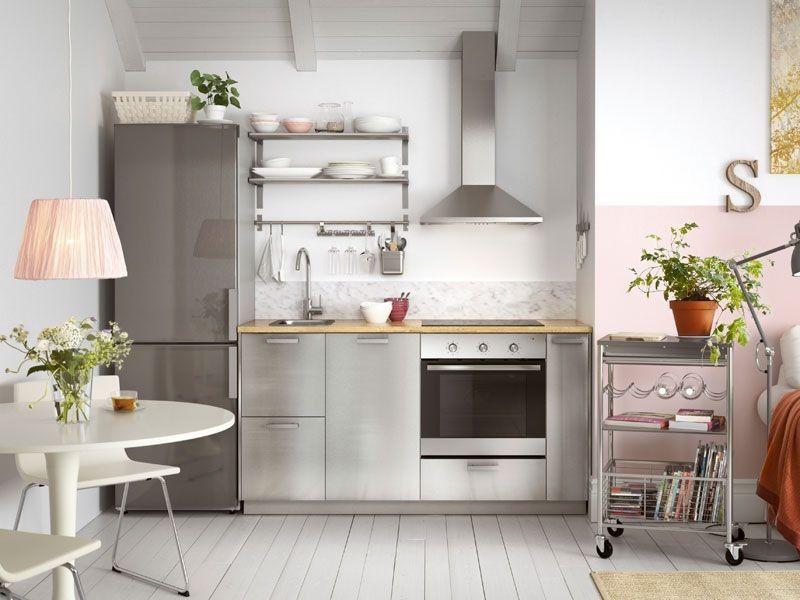 Znalezione Obrazy Dla Zapytania Mala Kuchnia Ikea Kitchen Colour Schemes Kitchen Design Purple Kitchen Decor