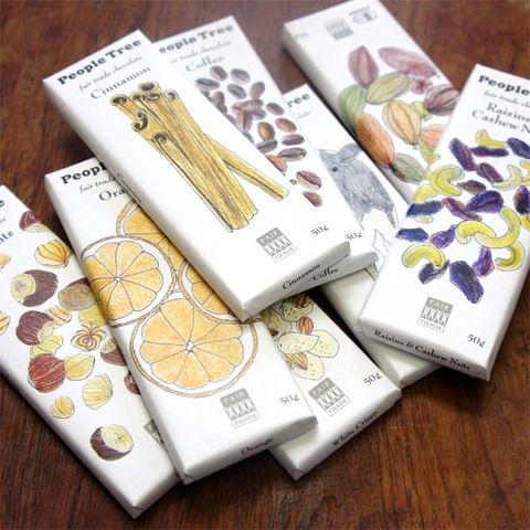 フェアトレード・チョコレート/ピープルツリー(50g)8種類