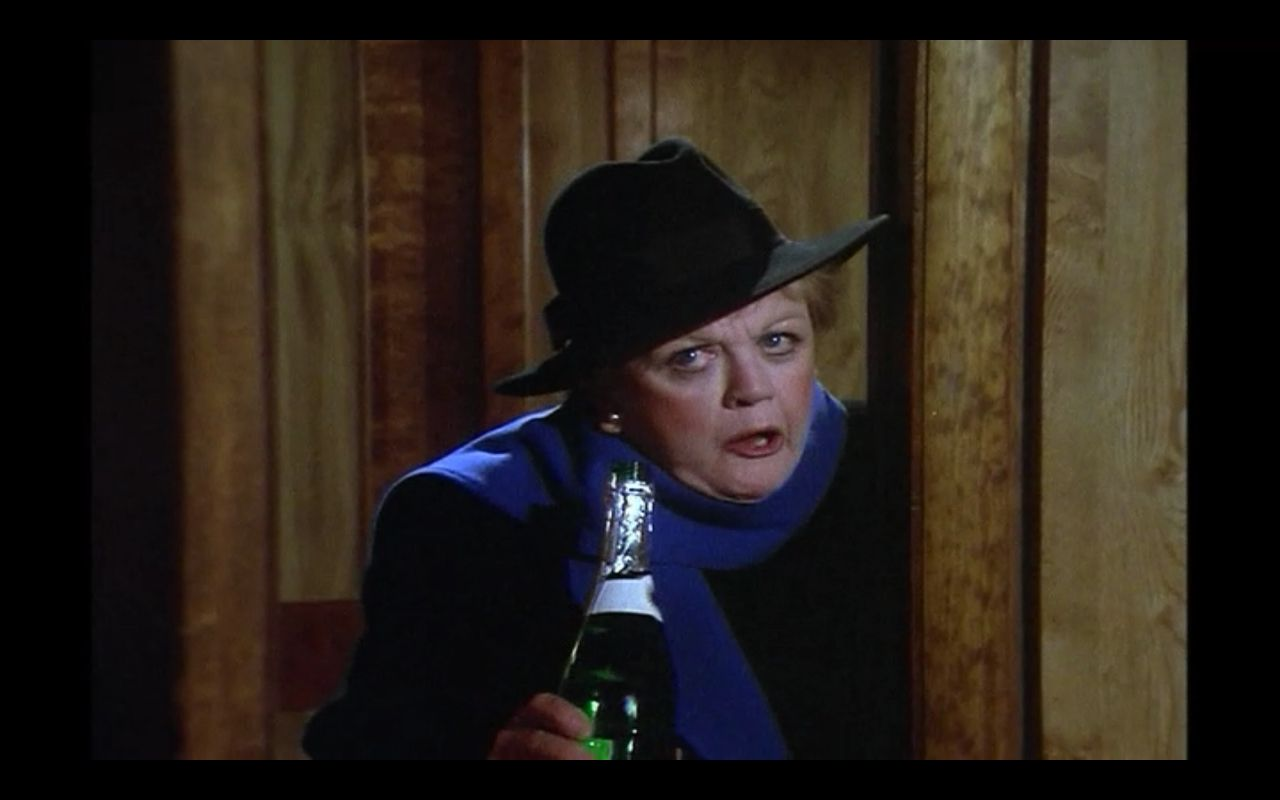 jessica fletcher pretending to be drunk to get information