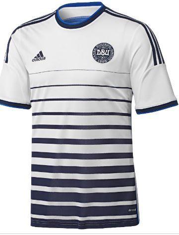 Camisa da Seleção da Dinamarca 2014-2016 Adidas  3c3a9dbce5115