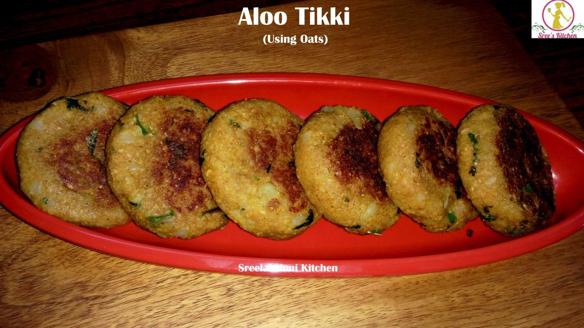 aloo tikki is a tasty shallow fried snack prepared with mashed potatoes and spices here is the on hebbar s kitchen recipes aloo tikki id=32511
