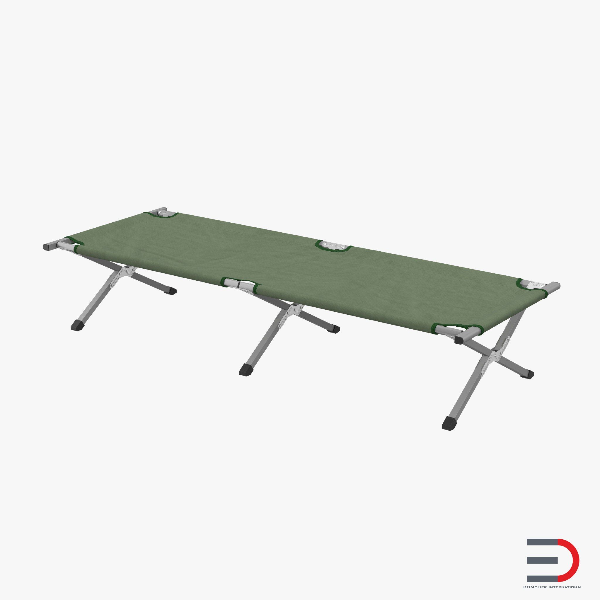 Camping Stretchers and Bed 3d model | 3d models of Medical Equipment ...