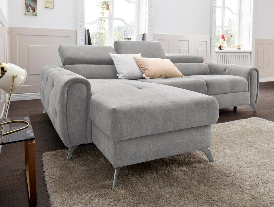 Exxpo Sofa Fashion Ecksofa Wahlweise Mit Bettfunktion Online Kaufen Mdf
