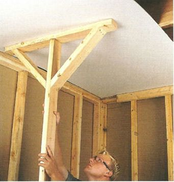 Deadman Brace Drywall Lift Drywall Drywall Installation