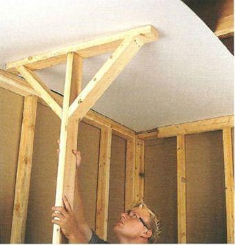 Deadman Brace Drywall Lift Drywall Drywall Installation