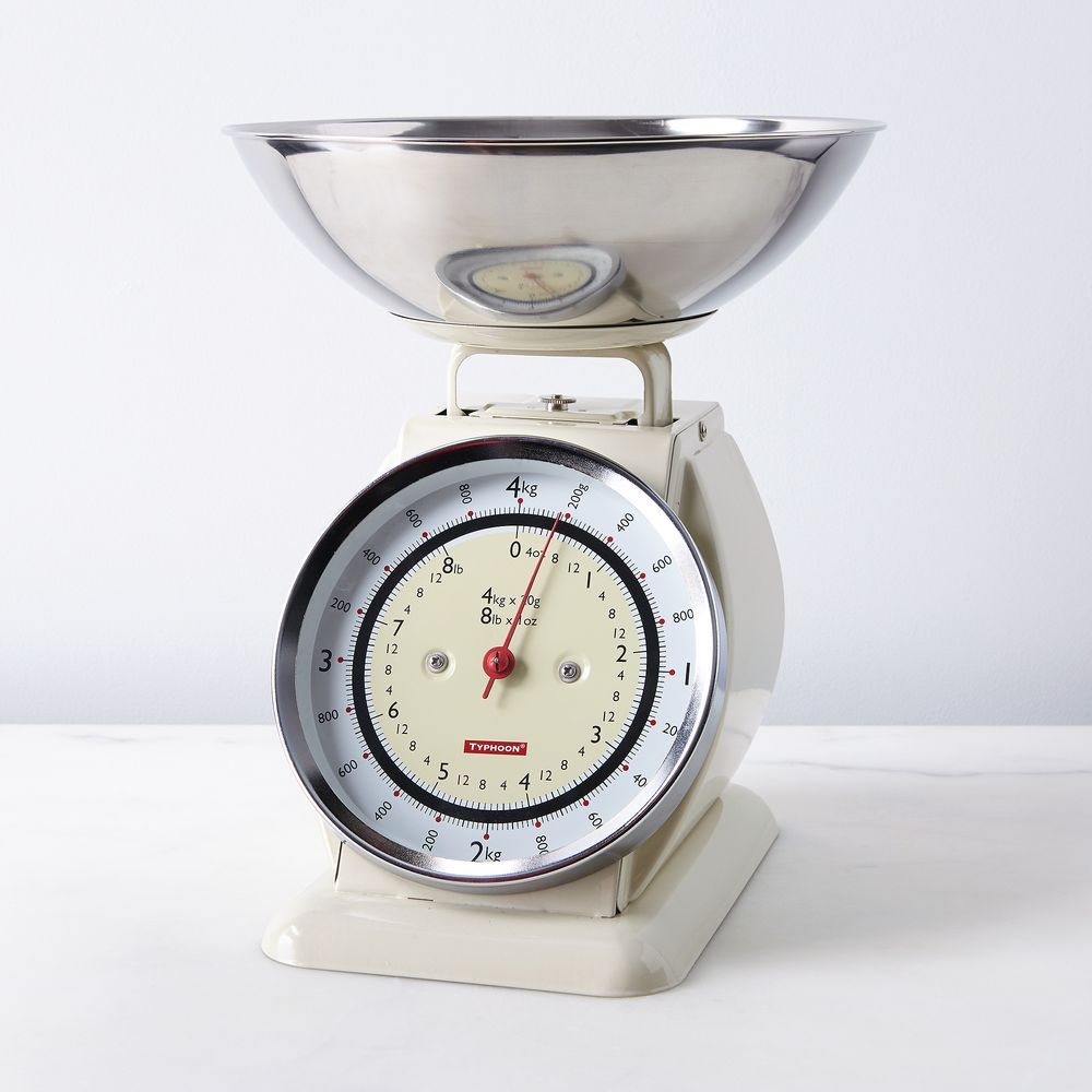 Vintage Style Kitchen Scale With Removable Bowl Kitchen Styling