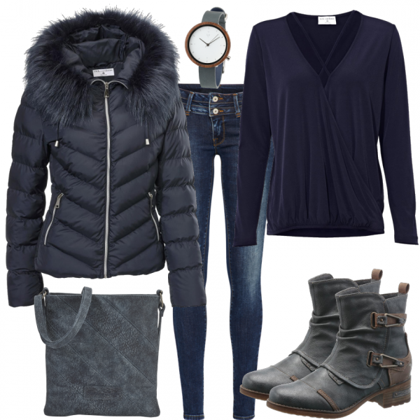 Herbst Outfits: BlueStyle bei ___