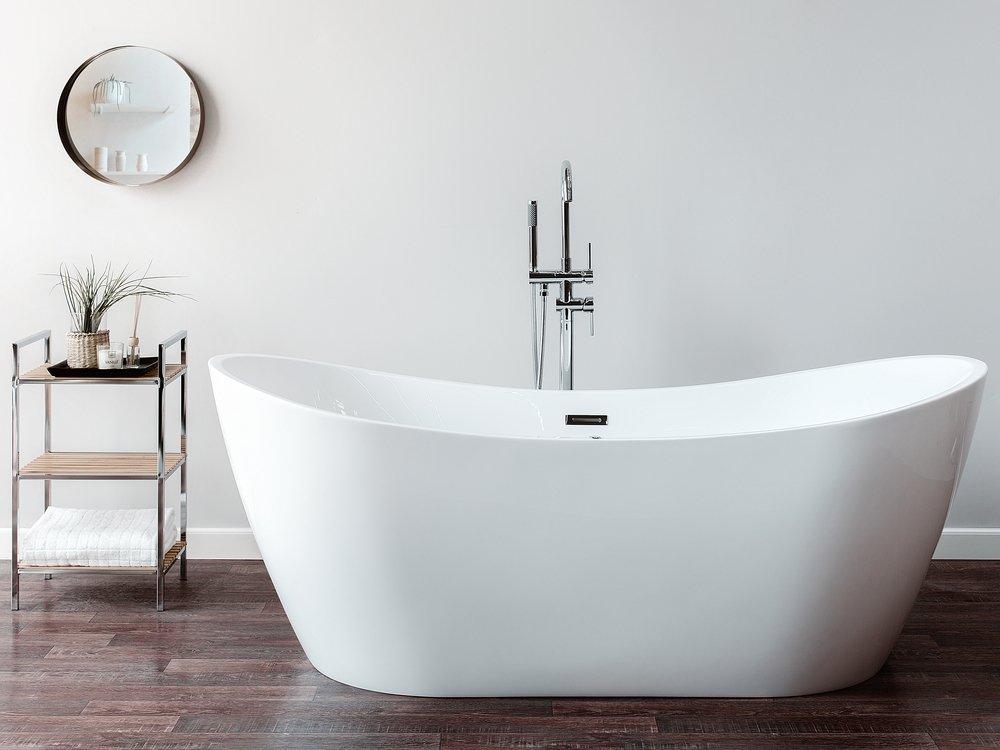 Freestanding Whirlpool Bath With Led Antigua Bathtub Bathtubs