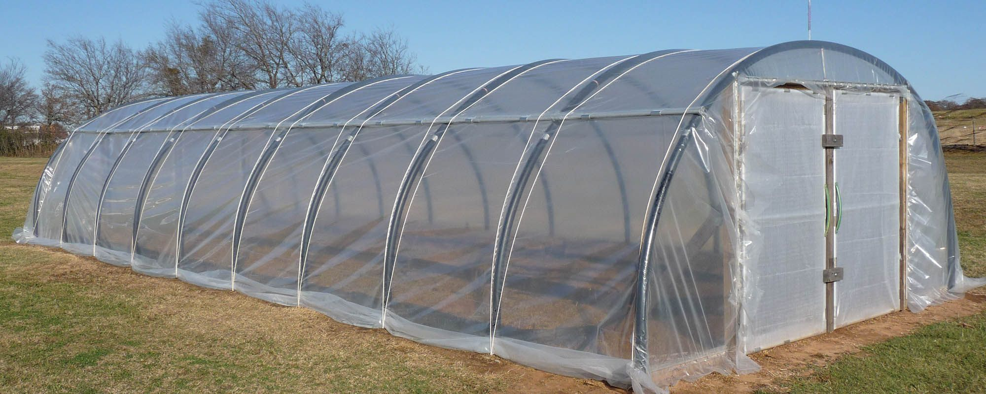 how to build a hoop greenhouse cheap