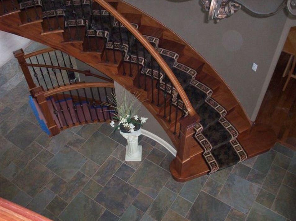 Wood Stair Carpet Runners