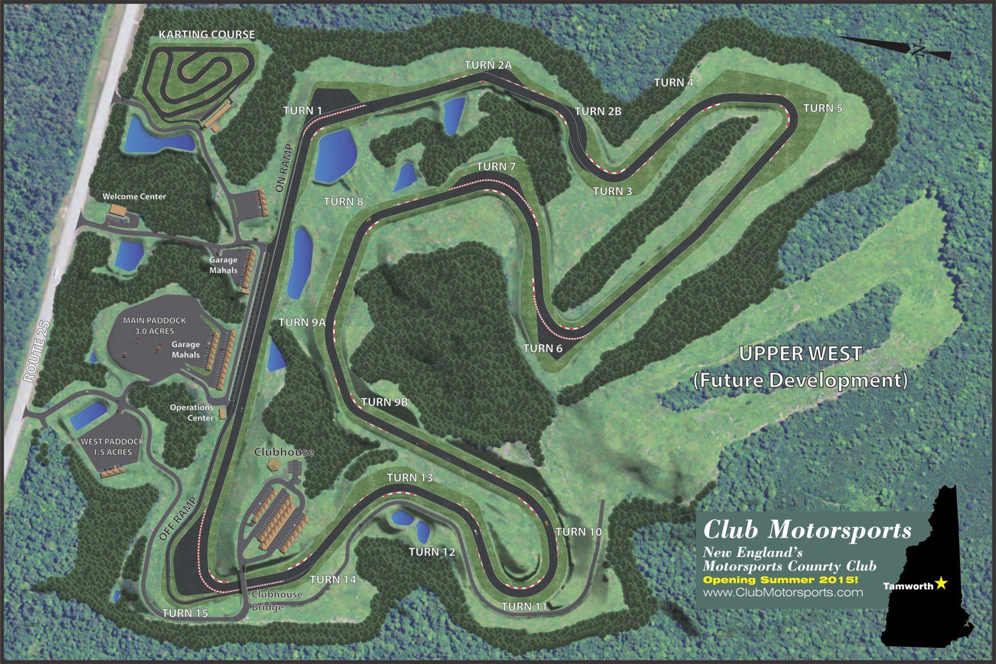 Club Motorsports Layout Explained Motorsport Race Track Slot Racing