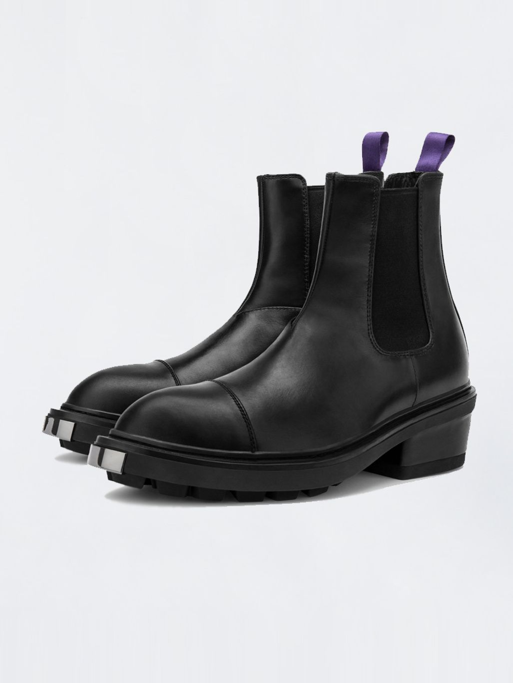 Nikita Leather Black Eytys Leather Chelsea Boots Boots Leather