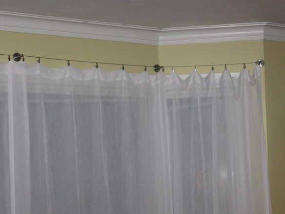 Product Review Ikea Dignitet Wire Curtain Rods Wire Curtain Rod Curtains Curtain Rods