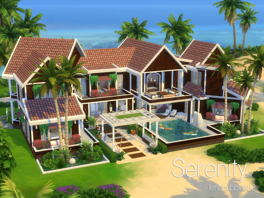 Serenity In Gallery Id Lenabubbles82 In 2020 Sims House Sims House Design Sims 4 Houses