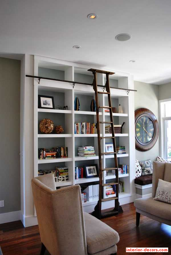 Inspirational Concept For Fresh Residence Library Layout Ideas