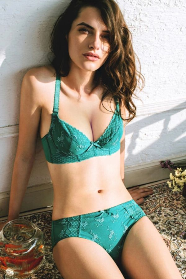 Summer Sheer Mesh Green Bra | Women's Sleepwear & Intimates ...