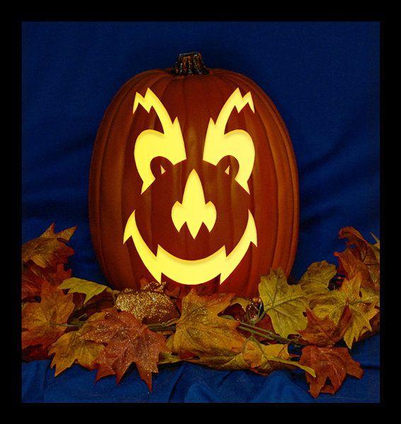Electric Bill Hand Carved On A Foam Pumpkin Plug In Light Etsy Pumpkin Carving Carving Foam Pumpkins