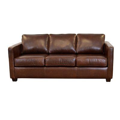Westland And Birch Salisbury Genuine Top Grain Leather Sofa Upholstery Berkshire Dark Brown
