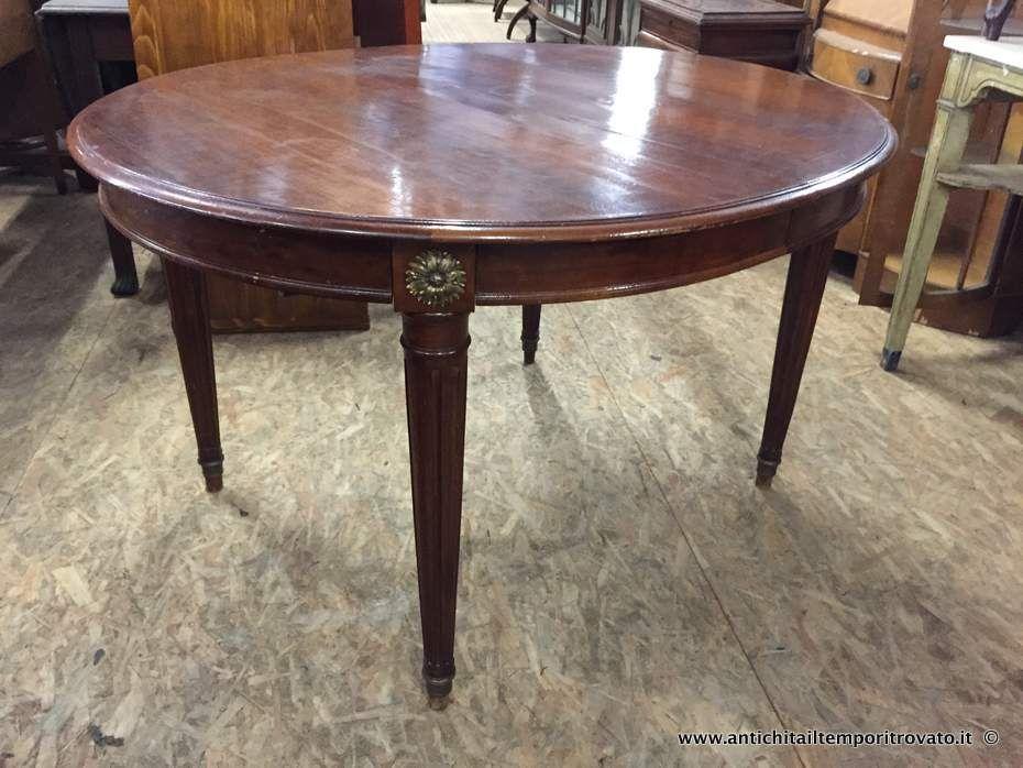 Tavolo Scacchiera ~ Mobili antichi tavoli allungabili tavolo francese estensibile