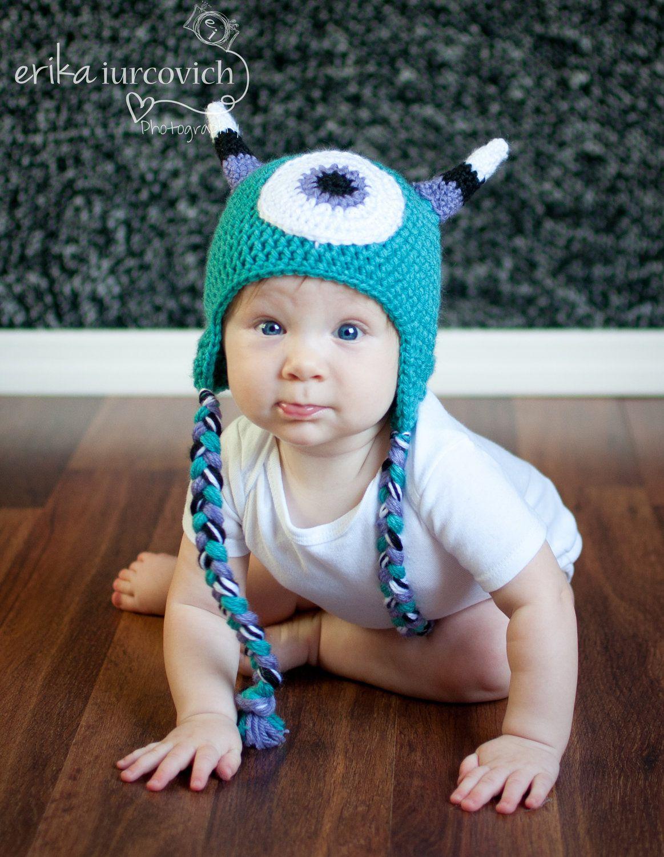 d42090f8c17 Monster Baby Hat