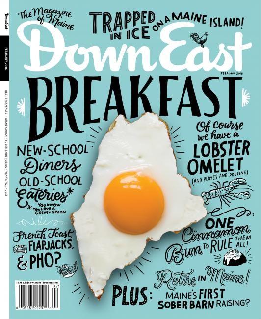 Down East Us Coverjunkie Food Magazines Cover Food Design Magazine Design