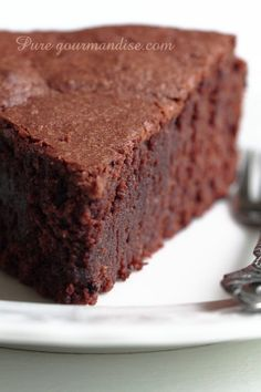 Fondant au chocolat et à l'amande - www.puregourmandise.com