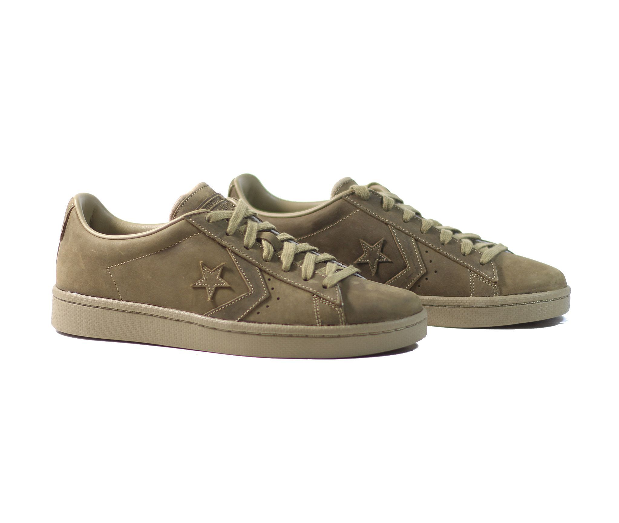 8fcf3378d062 Converse Pro Leather 76 OX - Khaki