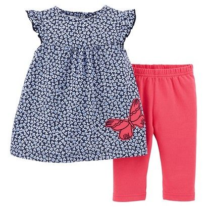 aee131790 Just One You™Made by Carter s® Toddler Girls  2 Piece Butterfly ...