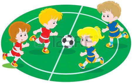 Ninos Jugando Soccer