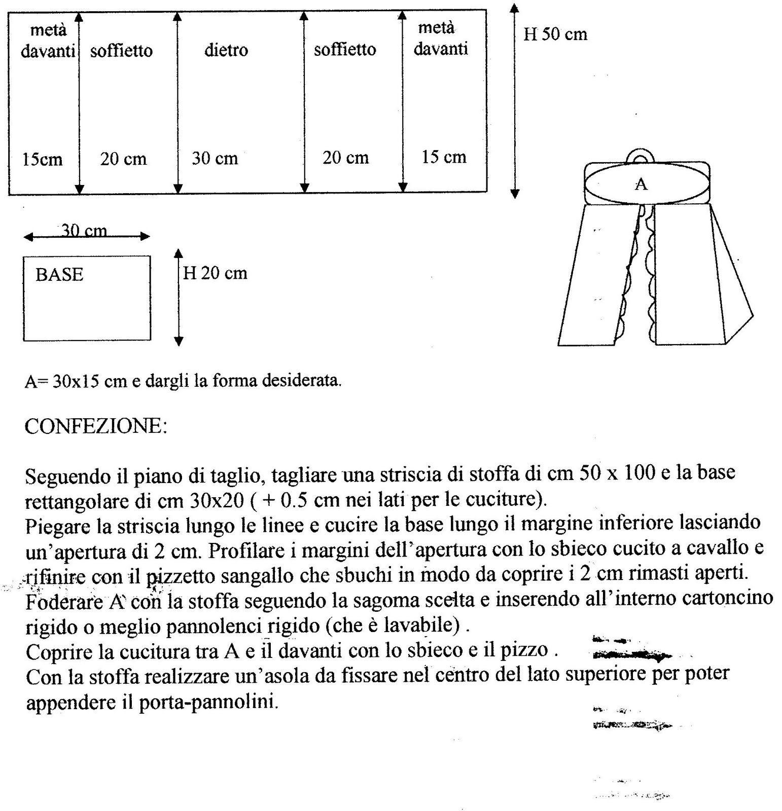 Le fragole di stoffa porta pannolini tutorial schema di for Tutorial fermaporta di stoffa