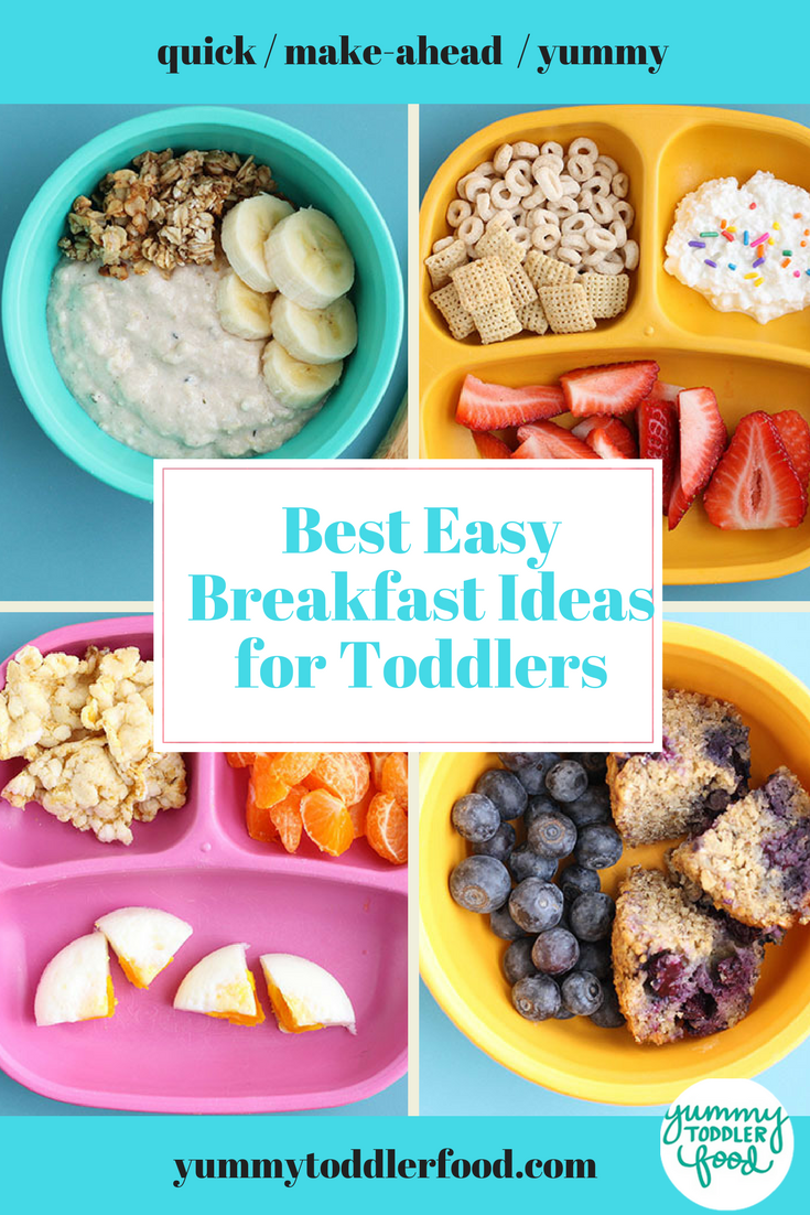 10 Healthy Toddler Breakfast Ideas