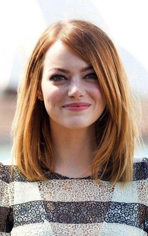 Long Bob Emma Stone Szukaj W Google Beauty To The Beholder Hair