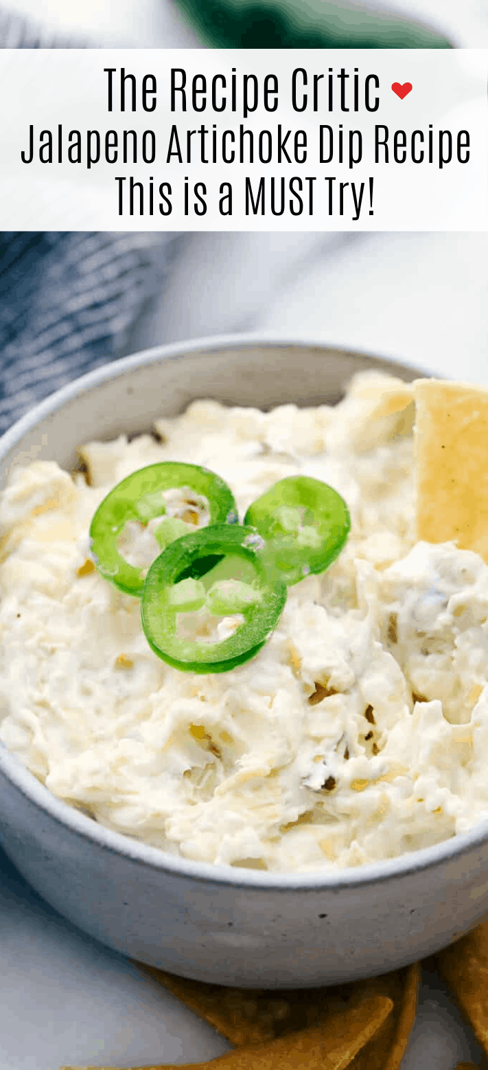 Jalapeno Artichoke Dip Is A Smooth And Creamy Blend Of Cheeses And Sour Cream Mixture With Chunks Of Artich In 2020 Artichoke Dip Recipe Spicy Appetizers Artichoke Dip
