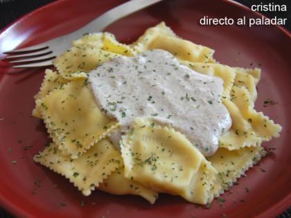 Pasta Con Salsa De Setas Receta Receta Salsas Para Pastas Recetas De Pastas Salsa De Setas