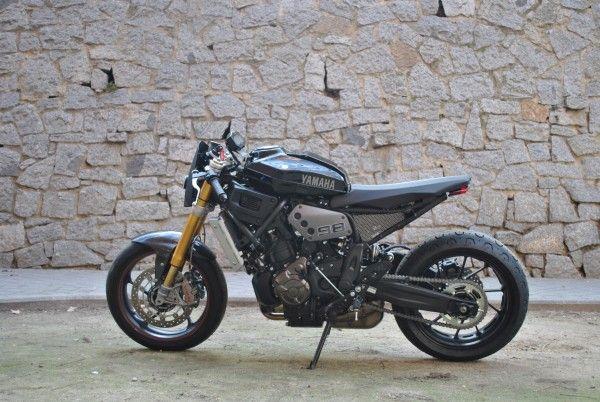 RocketGarage Cafe Racer Rat Bike XSR 700