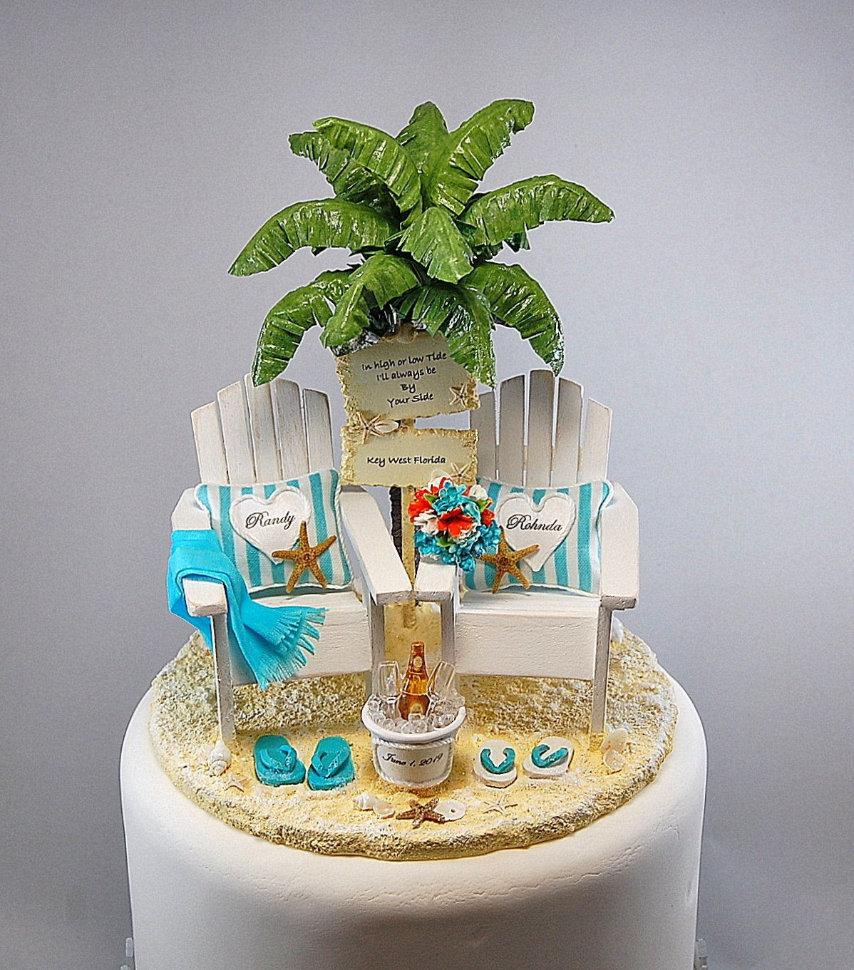 34++ Beach themed wedding cake toppers ideas in 2021