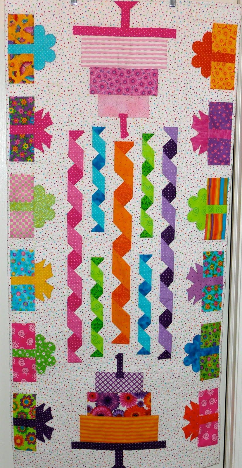 Hereus Block for the Jelly Roll Sampler Quilt Along sponsored by