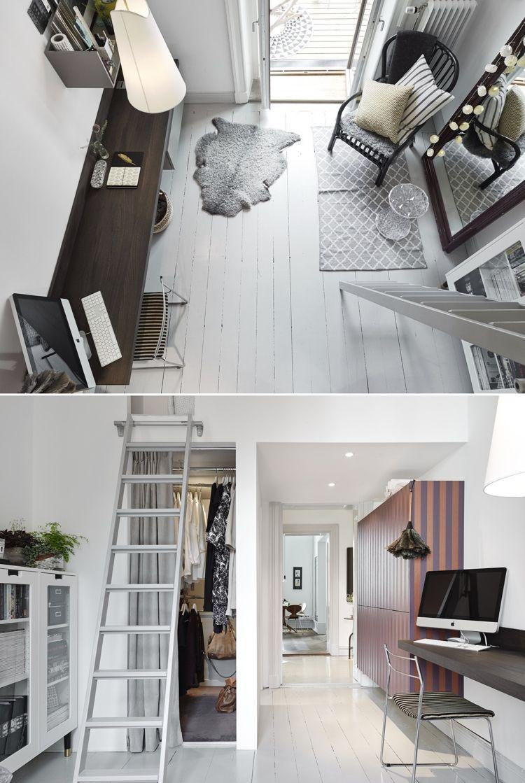 Kein Platz für Treppe, dann eine Leiter hinstellen ...