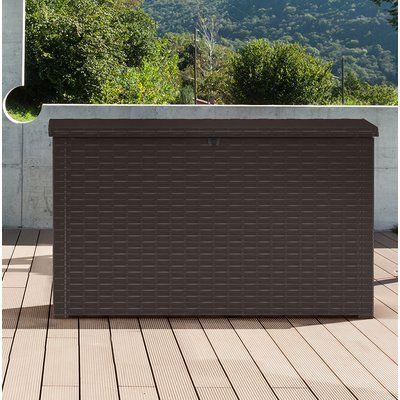 Keter Java 230 Gallon Resin Deck Box Resin Deck Box Deck Box
