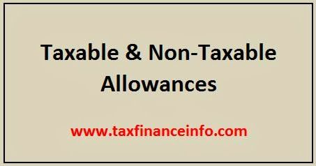 list of non taxable allowances salary income work and salary