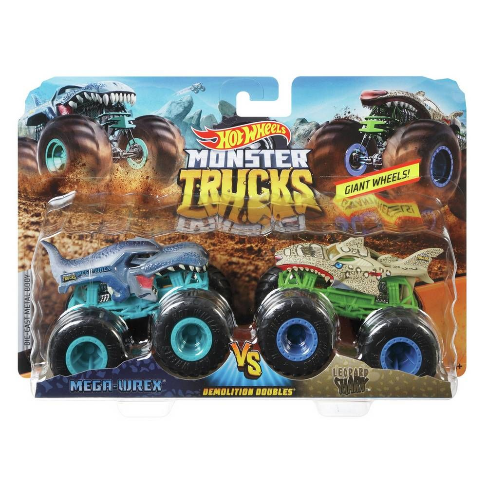 Buy Hot Wheels Monster Truck Twin Pack Toy cars