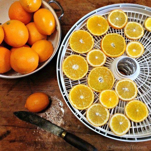 How To Dry Orange Slices Lemons Dried Oranges Dried Orange
