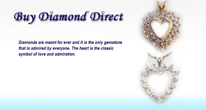 You can profess your love with the exquisite heart shaped #diamond pendant From Buy Diamond Direct, Inc. Visit our online Shop : http://bit.ly/1FrOhQ6