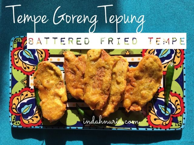 Tempe goreng tepung memang ngg ada matinya!  At least in my house.   Time to share another favorite menu of the house: tempe goreng ...