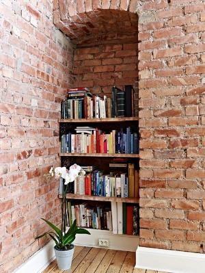 brick built in by garjo12881 decorate paredes de ladrillo pared rh pinterest cl