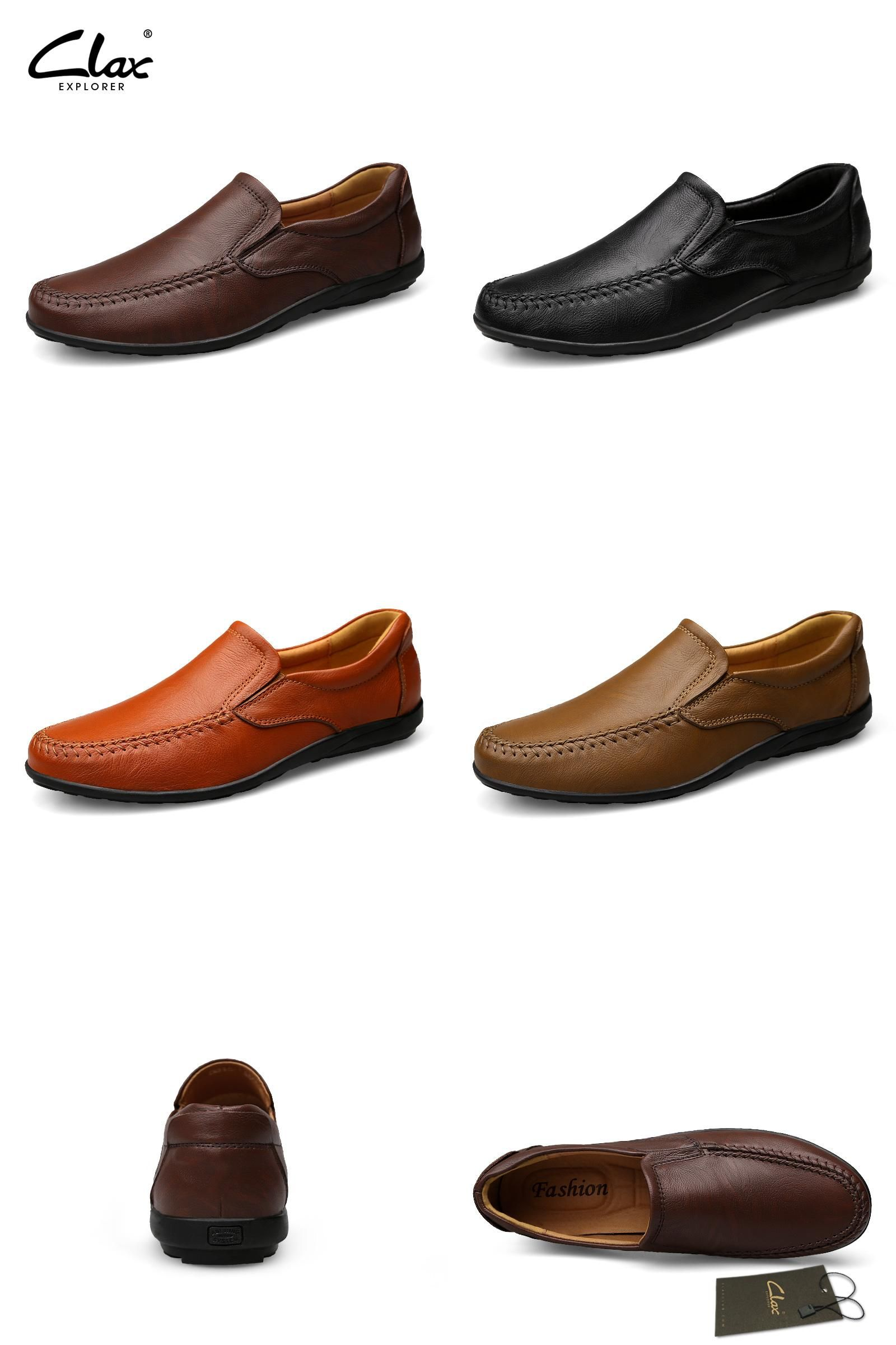 b89cb3b20c9614  Visit to Buy  Clax Men Soft Leather Loafers 2017 Spring Summer Male Casual  Shoes