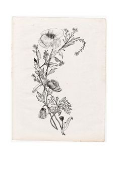wildflower bouquet tattoo - Google Search