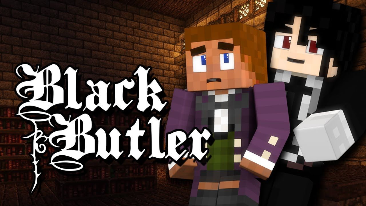 BLACK BUTLER: WELCOME TO PHANTOMHIVE MANOR! (Minecraft Anime Roleplay) E...