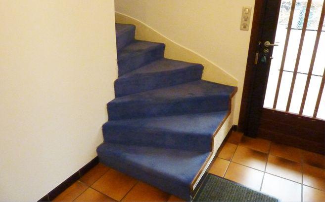Escalier En Beton Avec Moquette Escalier Beton Renover Escalier Renovation Escalier Bois